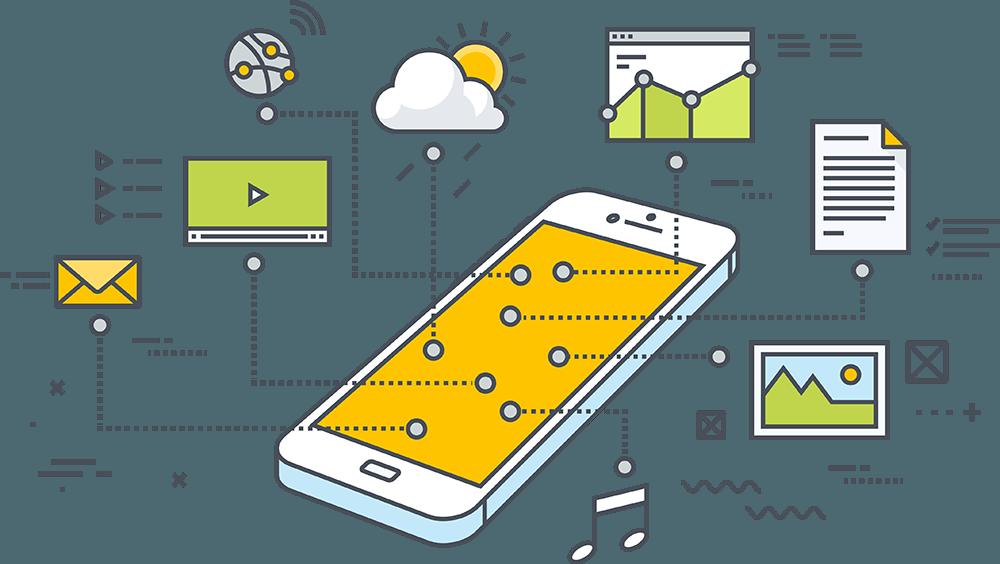 رابط کاربری موبایل