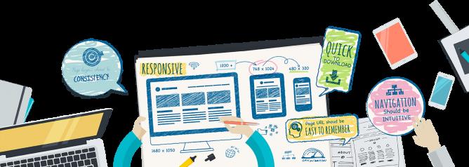 طراحی قالب وب سایت
