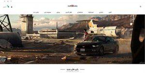 نمونه طراحی سایت